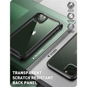Image 3 - Чехол для iPhone 11 Pro Max 6,5 дюйма (выпуск 2019 года) i BLASON Ares полноразмерный прочный прозрачный бампер с встроенной защитой экрана