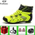 Tiebao winter road Fietsschoenen mannen voegen pedaal set Ademend Outdoor Athletic Fiets Schoenen Fiets Racing Schoenen Ciclismo Zapatos