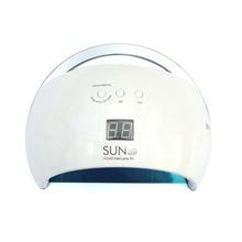 SUN6 LED Nail Lamp Nail Dryer Dual hands 21PCS LED UV Lamp For Curing UV Gel Nail Polish With Motion Sensing Manicure Salon Tool