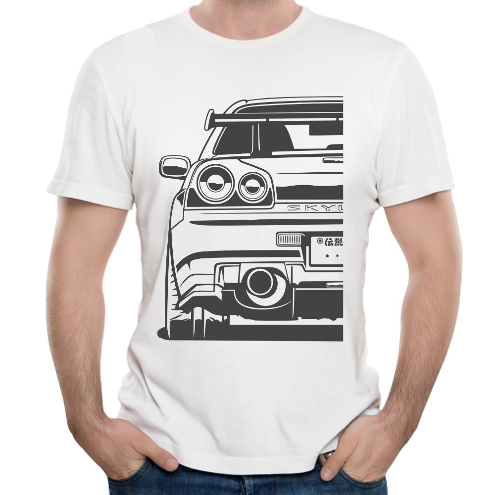 Men Fashion T Shirt 2019  Car T-Shirt Top design New arrival Casual Cool Tees