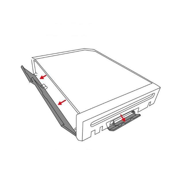 Memory Card Door Slot Cover Controller Door Cover Protective Shells Lids Replacement For Nintendo Wii Game Accessories