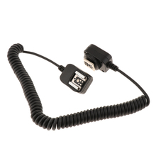 10ft TTL Off Camera Flash Hot Shoe Sync Cord Cable for Canon DSLR