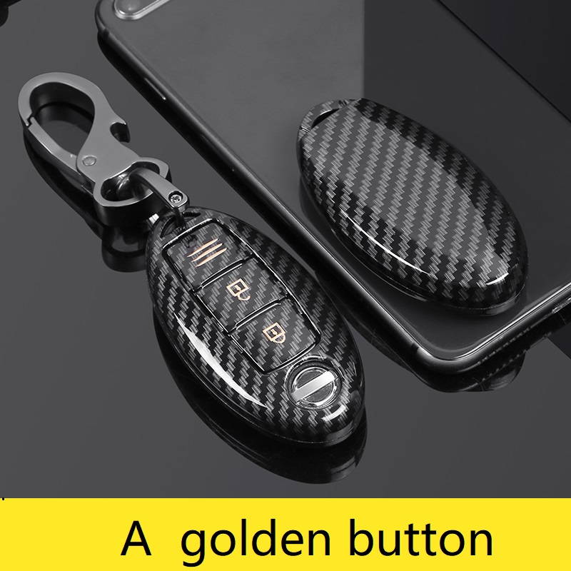 cheapest Carbon ABS Car Key Case For Nissan Versa Maxima Altima Rogue Armada Sentra Murano Infiniti FX35 QX60 Remote Cover Keys Bag