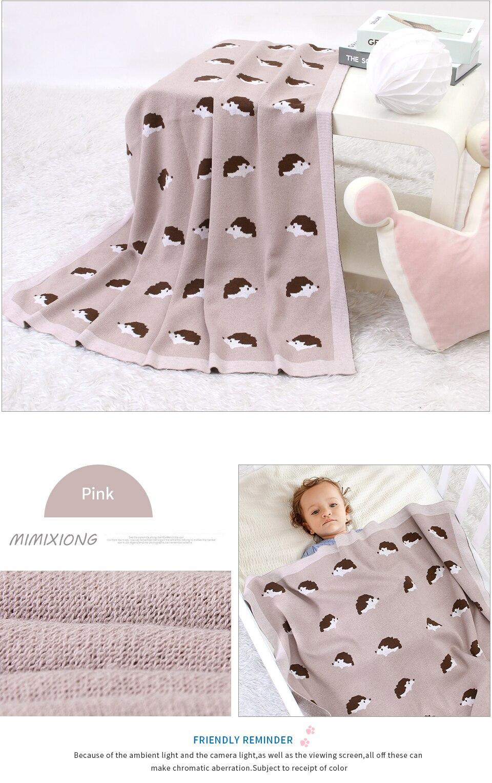 malha infantil crianças colchas cama mensal da criança sofá capa