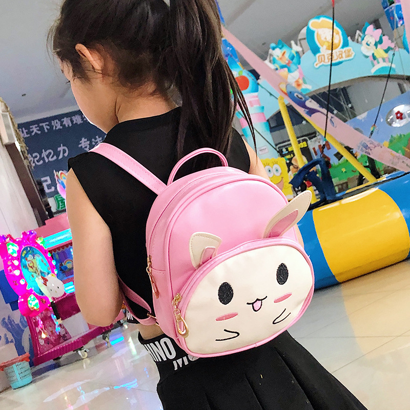 New Style Cartoon Rabbit Small Backpack Children Kindergarten Schoolbag Backpack
