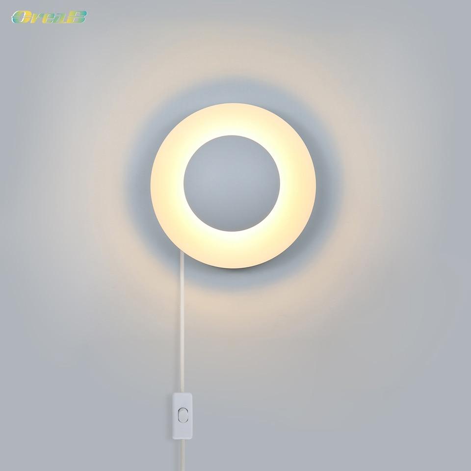 Plug In Wall Lights Mounted Lamp