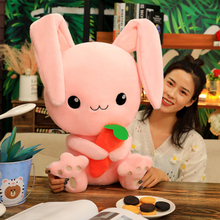 2020 New Dream Little Pink Rabbit Plush Toy Baby Toddler Doll Cartoon Ragdoll Animal Filled Soft Pillow Gift  Sp251