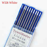 WZ8 Tungsten Electrode Professional Tig Rod 1.0 1.6 2.0 2.4 3.0 3.2mm for option 0.8% Zirconiated for Tig Welding Machine