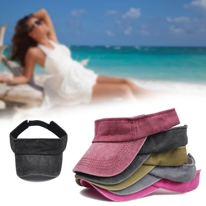Stylish Korean Version Outdoor Suncaps Washing Old Sports Running Baseball Caps Adjustable Nature Straw Topless Beach Trip Cap