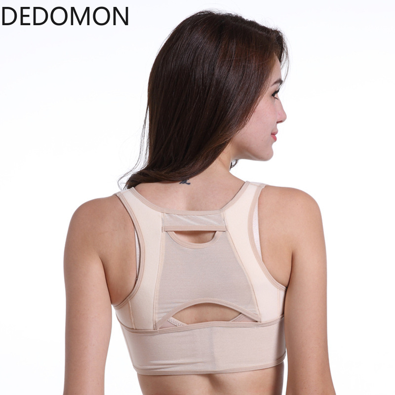 1PC Women Chest Posture Corrector Support Belt Body Shaper Corset Adjustable Shoulder Back Brace Back Pain Corretor De Postura