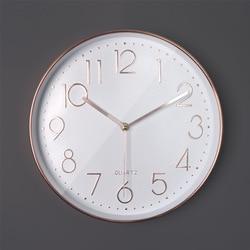 Plastikowa okrągła 30cm prostota w stylu nordyckim cichy zegar ścienny kwarcowy cichy sweep non tick artystyczna dekoracja do domu zegar ścienny nowoczesny design