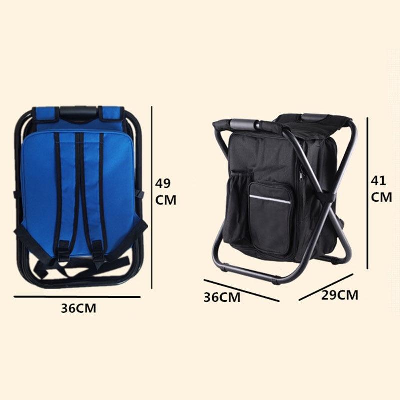 mochila cooler isolado saco de piquenique caminhadas assento de pesca