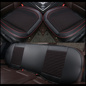 Image 1 - Housse de siège de voiture en cuir 3D, housse de siège de voiture, coussin pour VolksWagen Passat Toyota Honda Ford Chevrolet Mazda Peugeot KIA