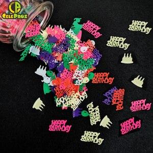 Image 4 - Confeti de 15g para cumpleaños, confeti de Cumpleaños feliz, aniversario, decoración de fiesta de cumpleaños, confeti, suministros de lentejuelas