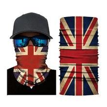 Принт национального флага шарф повязка на шею круглая петля