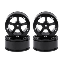 4pcs 1:16 Durable Tires Aluminum RC Toy Climbing Car Modificate Replacement Parts Easy Install Gifts Spare Wheel Hub For WPL(China)