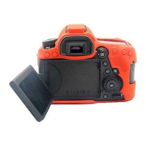 Image 4 - CAENBOO Dành Cho Canon EOS 6D Mark II Túi Cao Su Silicone Mềm Bảo Vệ Thân Thể Cover ốp Lưng Bao Da Cho Canon EOS 6D Mark2 Túi