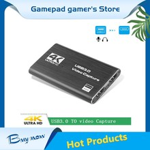 Video-Capture-Card Grabber Capturing Game Hdmi-Compatible 1080P USB3.0 4K for OBS Dongle