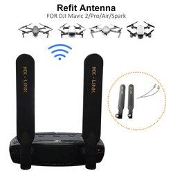 Antena para DJI Mavic Air/Mavic 2 Pro/Spark/Mavic Mini 5000M amplificador de señal omnidireccional extensor accesorios para Dron