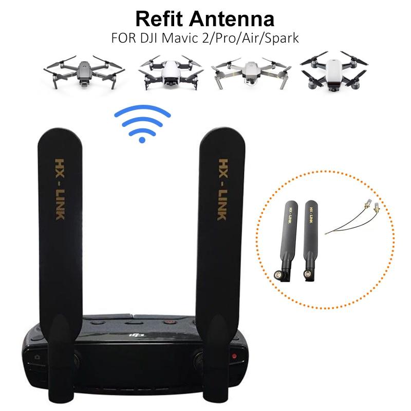Antenna For DJI Mavic Air/ Mavic 2 Pro/ Spark/Mavic Mini 5000M Signal Booster Omnidirectional Booster Extender Drone Accessories
