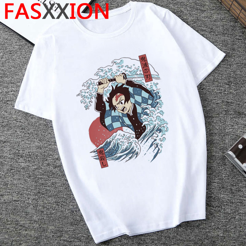 H20f83484e48142619ca67b8dee06a3a0p - Demon Slayer T-shirt  Graphic Tees Men Streetwear  Japanese Anime Cool Tshirt Funny Cartoon Kimetsu No Yaiba T Shirt Male