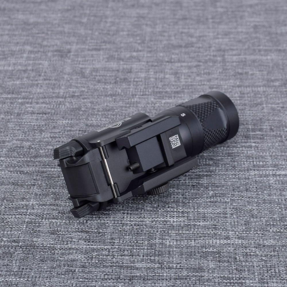 X400v tático arma luz com laser vermelho