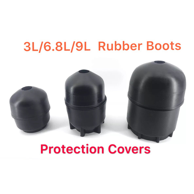 AC9000 Acecare 3L/6.8L/9L Rubber Boots Protection Cover For PCP/HPA Compressed Air Tank Scuba/Cylinder Airforce Condor/Rilfle