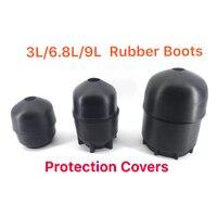 Ac9000 acecare 3l/6.8l/9l borracha botas proteção capa para pcp/hpa tanque de ar comprimido mergulho/cilindro airforce condor/rilfle