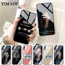 YIMAOC 13 Reasons Why New Design Glass Case for Huawei P10 lite P20 Pro P30 P Smart honor 7A 8X 9 10 Y6 Mate 20