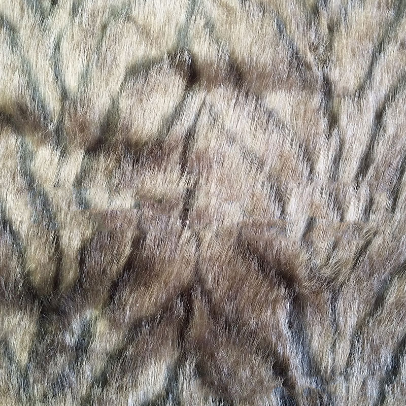 Haute qualité vison fourrure artificielle laine jacquard mode jouets maison textile spot en gros