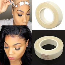 Lasting Lace Glue Tape For Weft Wig Hair Extension Adhesive Double Sided Tape Tool Parts(China)