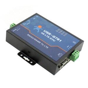 Image 2 - USR G781 Industrial transparent data transmission RS232/RS485 Serial to 4G LTE Modem with Ethernet Port