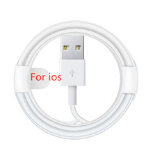 0.2m 1m 2m 3m USB Charging Cable EU Wall Charger for iPhone 7 8 Plus 6 6S PLUS X XR XS Max 11 Pro MAX 5 5S SE USB Data Cables A