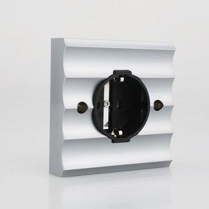 Image 1 - Viborg ve02r cobre puro ródio chapeado schuko soquetes schuko elétrica alemão europeu tomada de energia placa de parede 250v 16a