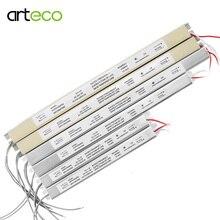 12v led transformador fonte de alimentação adaptador ac 110v 220v 1.5a 3a 5a led driver ultra fonte de alimentação fina para luzes de tira led