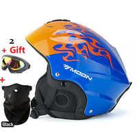 NEW Moon Brand Ultralight Women's Ski Helmet Men Professional Winter Snowboard Helmet Female Snow Skate Helmets Kids Boys Skate