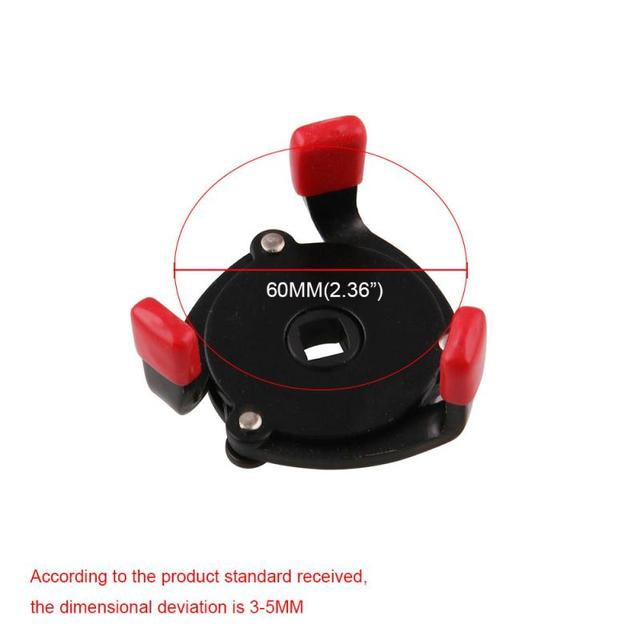 High Quality Universal 3 Jaw Oil Filter Remover Tool Cars Oil Filter Removal Tool Interface Special Tools Oil Filter Wrench Tool