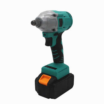 Brushless Rechargeable Electric Wrench Lithium Battery Impact Wrench Hand Shelf Mechanic Woodworker Wind Gun Sleeve