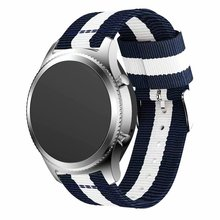 Nylon Strap for Samsung Galaxy Watch Active 42/46mm Gear S3 20/22mm Sport Watchband for Huami Amazfit Huawei Watch 2 gt Ticwatch