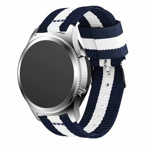 Image 1 - Nylon Strap for Samsung Galaxy Watch Active 42/46mm Gear S3 20/22mm Sport Watchband for Huami Amazfit Huawei Watch 2 gt Ticwatch
