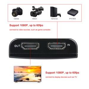 Image 4 - Ezcap 266 1080P HD Video Game Hộp Chụp Cho Video Trực Tiếp Hỗ Trợ 1080P Video Đầu Vào Và Đầu Ra Mic đầu Vào Đen