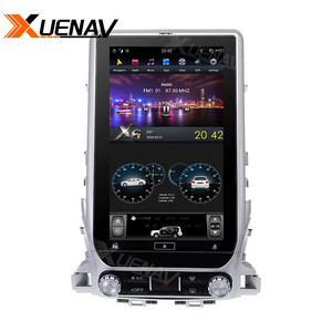Image 5 - 13.6 inch Car radio tape recorder head unit multimedia player for TOYOTA LAND CRUISER 2016 2019 Car GPS Navigation for TOYOTA