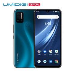 Смартфон UMIDIGI A7 Pro, глобальная версия, 4G, четыре камеры, Android 10, 6,3 дюйма, FHD +, полный экран, 64 ГБ/128 Гб ПЗУ, Восьмиядерный