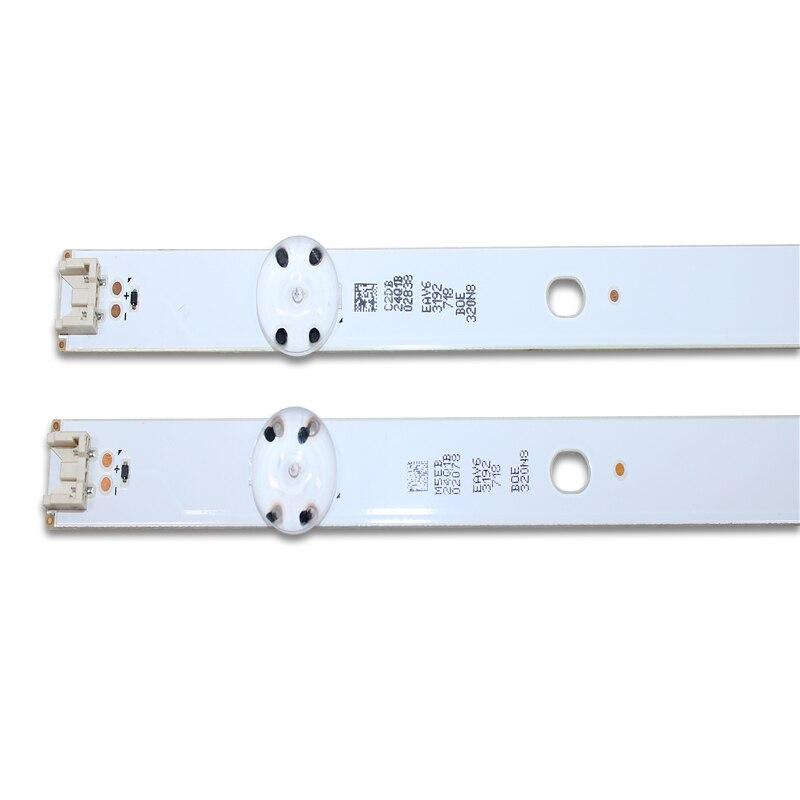 10 PCS 5LEDs 590mm LED Backlight Strip For LG 32LF510B Innotek Direct 32inch CSP 32LH510B 32LH51_HD S SSC_32INCH_HD