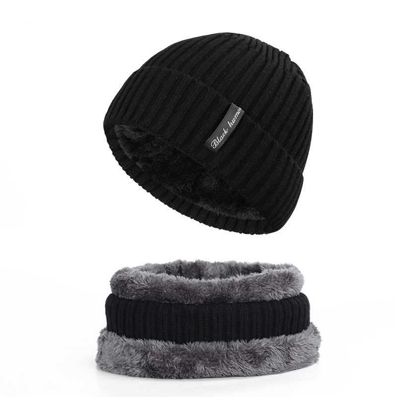 NUZADA Brand Winter Hat For Men Women Wool Scarf Caps Skullies Beanies Hats Warm Beanie Mask Bonnet Cold Protection Knitted Hat