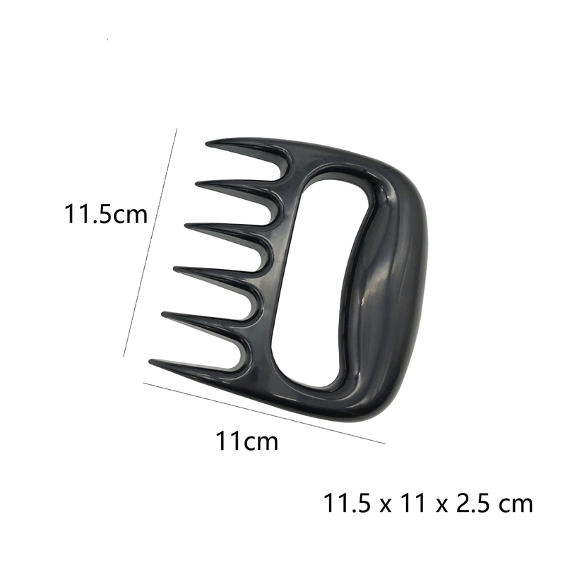 New 1pc Bear Claws Barbecue Fork For  Meat Shred Pork And  Clamp Roasting Fork Tool For Kitchen 5