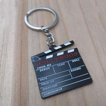 Hollywood Movie Punch Key Chains Key Chains Metal Key Chain Custom Logo With Metal Key Chain On The Field Record Board Keychain