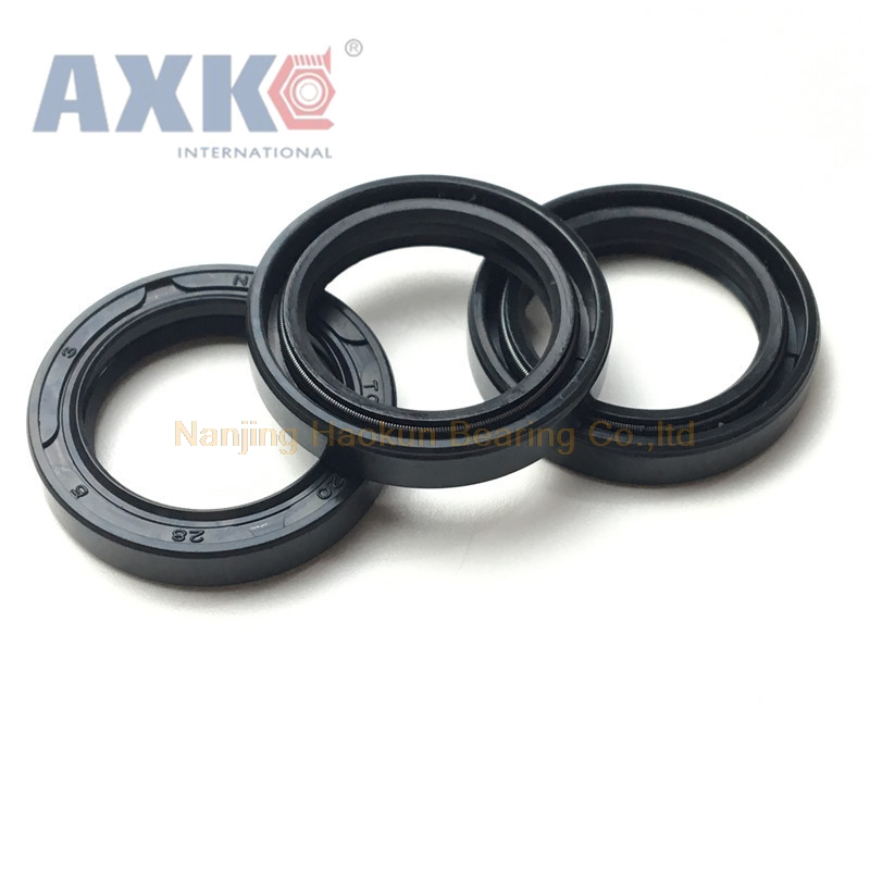 AXK 10PCS NQK TC <font><b>30</b></font>*47*8 skeleton oil seal black <font><b>30</b></font>*47*12 <font><b>30</b></font>*48*8 <font><b>30</b></font>*47*8 image