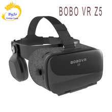 VR glasses Z5 Virtual Reality 3D VR audio visual integrated glasses vr box black handle