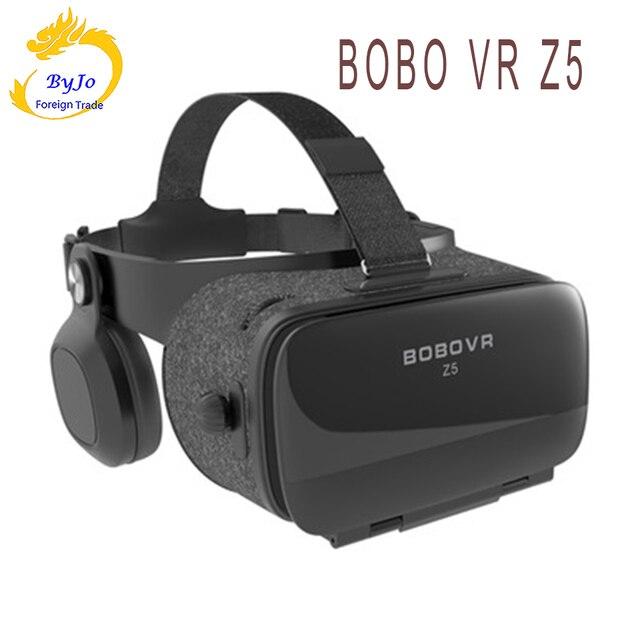 VR lunettes Z5 réalité virtuelle 3D VR audio visuel lunettes intégrées vr boîte poignée noire